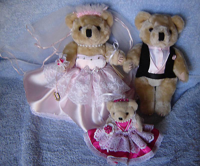 Bears & Flower Girl
