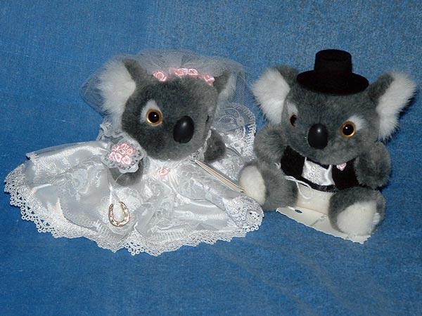 Koala Bride & Groom