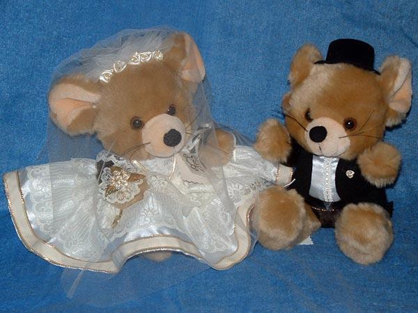 Mice Bride & Groom